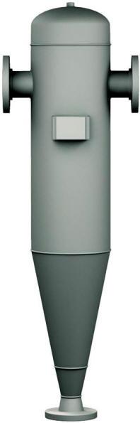 Liquid-soilds centrifugal separator