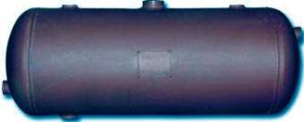 Fabricated steel flash tank