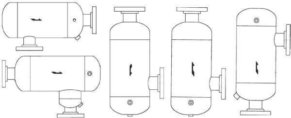 L series gas liquid separators