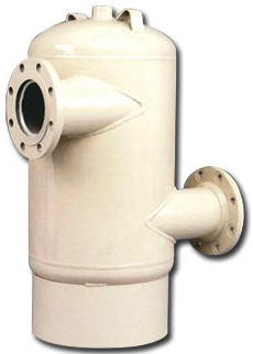 tangential air separator tank
