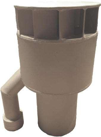 I70 centrifugal separator baffle